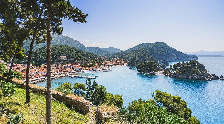 Blick auf Preveza, Griechenland