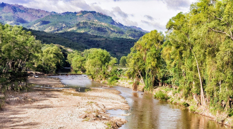 Region Choluteca auf Honduras
