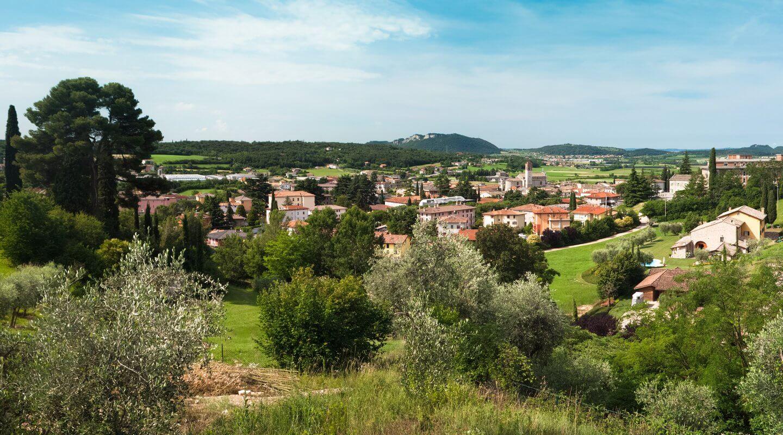 Landschaft um Verona, Norditalien