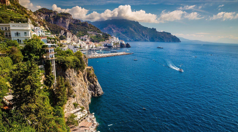 Amalfi-Küste, Süditalien
