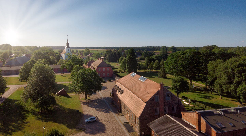 Blick auf Rothenklempenau, Mecklenburg-Vorpommern