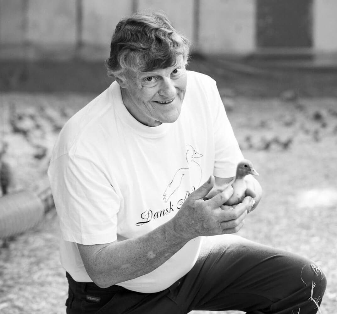 Entenflüsterer Martin Daasbjerg