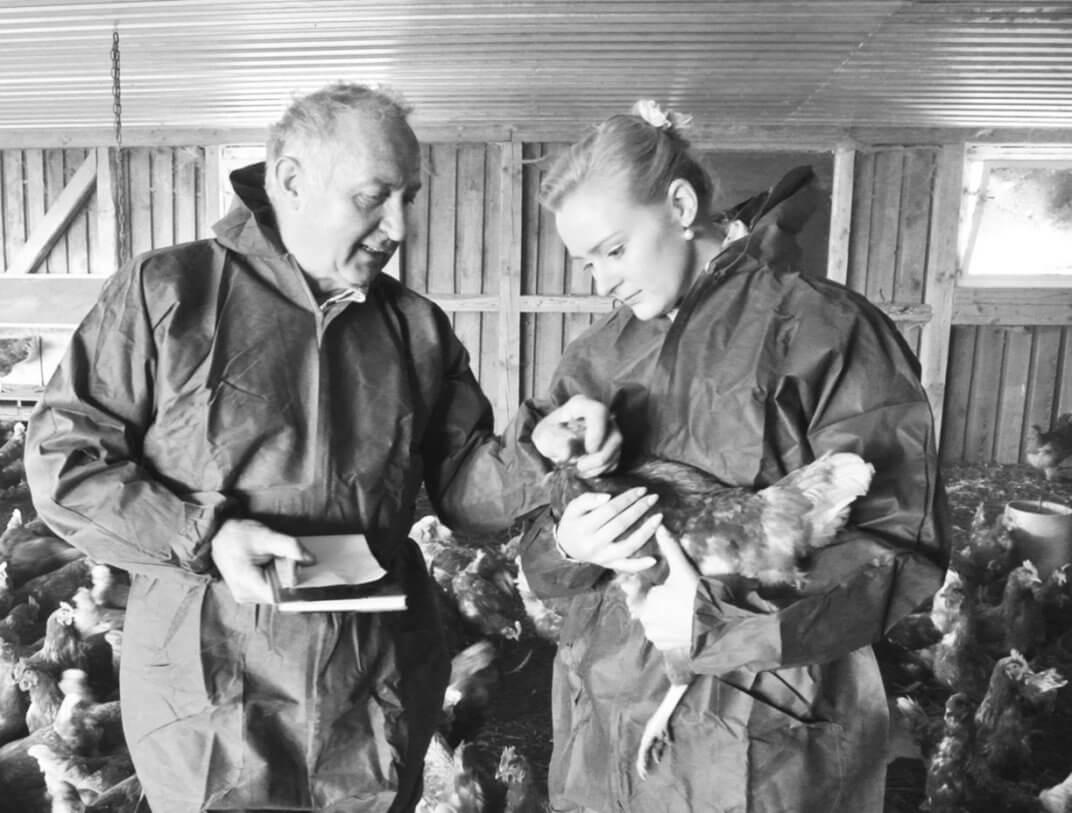 Beim Hähnchen-Züchter in Niedersachsen