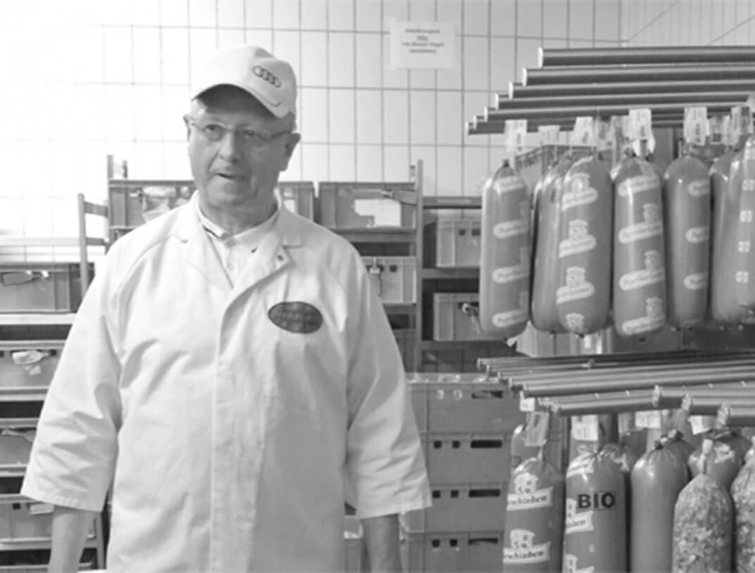 Herr Kleinhenz in der Produktion