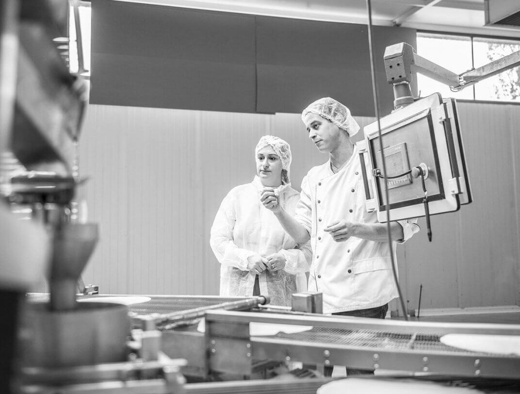 Biopolar zu Besuch in der Produktion