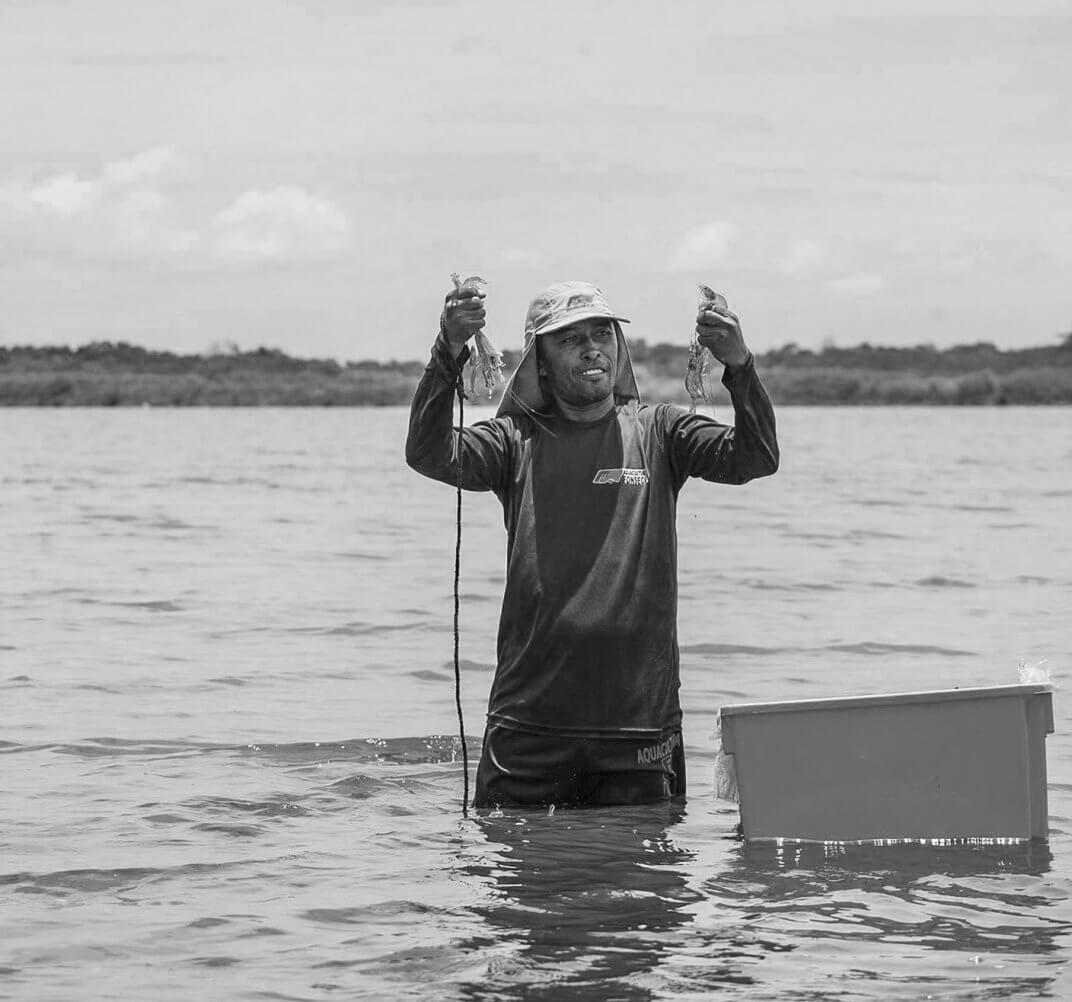 Unser Garnelenfischer José