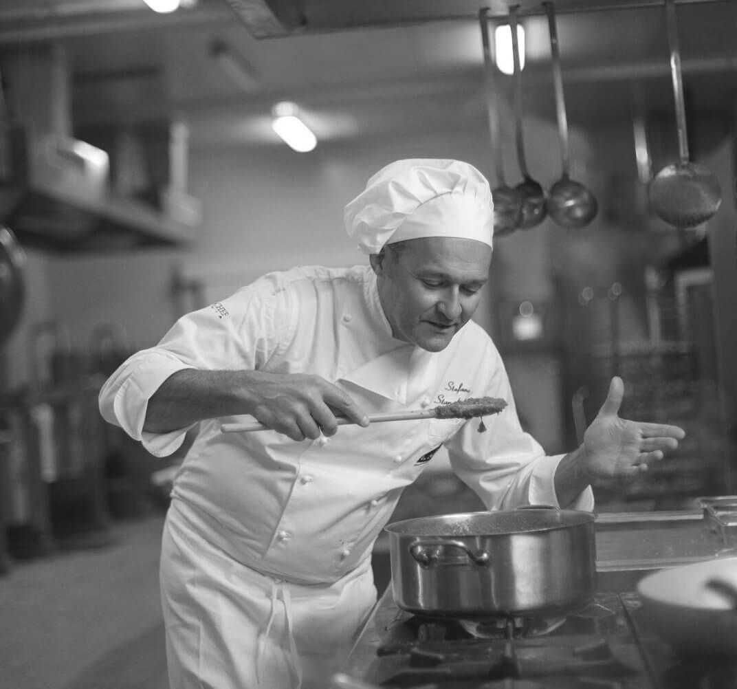 Küchenchef Stefano Stanghellini